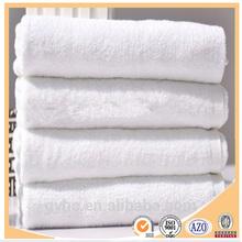 100% cotton white large quantity towel cotton hospital bath
