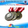 3D custom metal marathon medal medallion/custom sport medals-blank sports medal