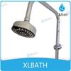 XLBATH ABS Chromed Multifunctional standing shower sprinkler head
