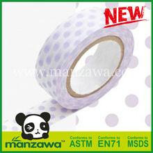 Manzawa yellow bopp bag sealing tape washi tape