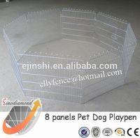 80x75cm Galvanized Metal Cats Playpen Exercise Pen Fence