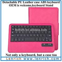LBK910 Book Style Wireless Bluetooth Keyboard for Kindle Fire HDX 7 Keyboard Case