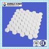 Impact&Wear resistant 99% AL2O3 ceramic hex tile