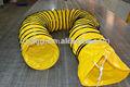 tragbare pvc gelb flexible abluftschlauch