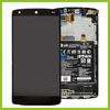 For LG Google Nexus 5 D820 Complete Lcd Screen with Digitizer, Frame and Battery - Brand New