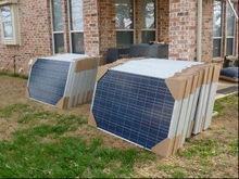 18v solar panel 150w poly,price per watt solar panels good price in china