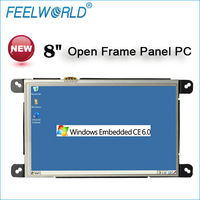 "8"" mini pc windows ce open frame with WIN CE 6.0 and Linux OS wifi rs232"