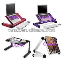 Standing fit Desk Adjustable laptop Keyboard Riser Stand for Laptops & Desktops (BLACK)