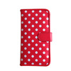 Newest mirror style PU leather case , for iphone 5c case with card slots