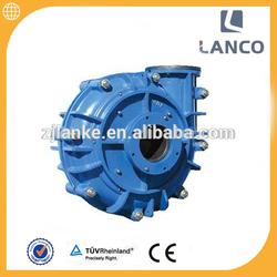 Lanco brand 8 inch Belt driven centrifugal sludge water pump