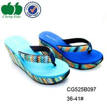 creative new summer fashion eva high heel flip flop