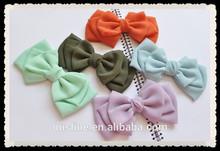fashion sweet bow headwear,girls layered bow