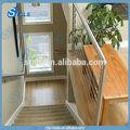 Inoxidable barandilla de alambre de acero inox cable pasamanos de la escalera pasamano del balcón
