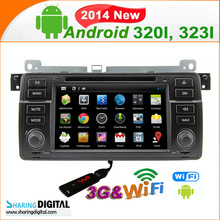 SharingDigital Android 4.2.2 7 Inch touch screen car dvd player for E46 radio cd