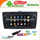 """SKD-7403GDA with capacitive 2 din radio 7"""" Car DVD Player GPS for Skoda Octavia 2011"""