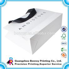 Custom bottom strength paper bags printing/thin paper bags packaging