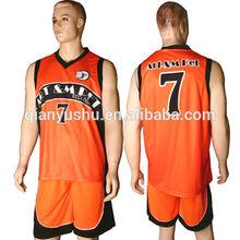 Sublimation ncaa basketball jersey design cheap