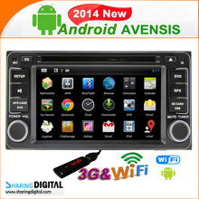 TYT-7930GDA Android 4.2.2 2 din with RDS steering wheel control for rav4 car dvd gps