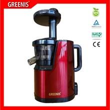 natural fruit juice machine GREENIS stainless steel housing cold press juicer