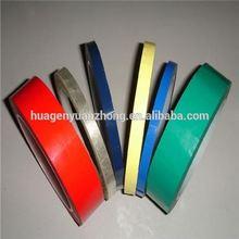 black high adhesive pvc floor marking tape or warning tape