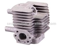 Essence pièces de rechange en aluminium piston vérin pneumatique 32F-1 pour tondeuse à gazon