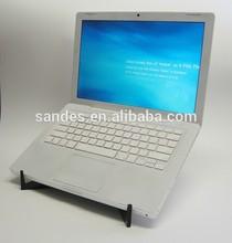 Black Top Grade Acrylic Plastic Laptop Cooled Radiator Display