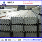 factory produce and price mild carbon steel angle standard sizes with good quality