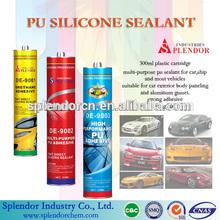 PU/POLYURETHANE SILICONE SEALANT/ pu sealant for windshield/ splendor pu waterproof sealant