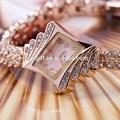 L'arrivée de nouveaux 2014 hotsale fantaisie. or, montre en or rose coffret cadeau pour les femmes dame jr1102