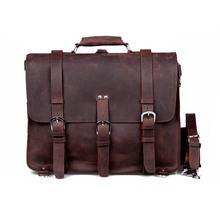 Genuine leather vintage doctor bags for men