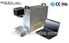china reci bring ring marking machine fiber laser marker
