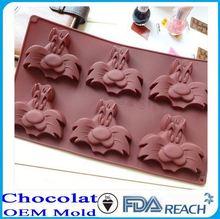 MFG Various shape silicone chocolate molds excellent houseware food grade silicone chocolate mold