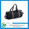 2014 men cylinder sports bags adjustable shoulder strap clear gym bag