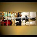 original pintura moderna abstrata para sala de estar