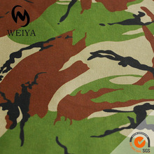 Camouflage Printed 100% Cotton Twill Fabric