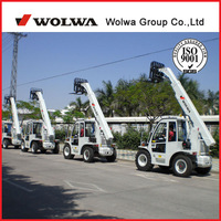 Mini telescopic forklift loader with ISO certificate and max lifting capacity 2.5 Ton