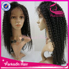 100% brazilian top quality nice deep curl lace front human hair wigs white women