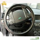 Comfortable steering wheel cover, sheepskin, black, 38cm
