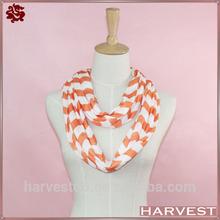 Cheap China wholesale polyester chevron infinity scarf
