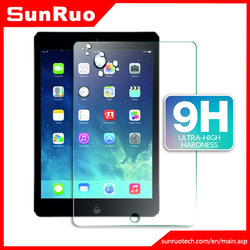 0.3mm round edge tempered glass screen protector ipad 4