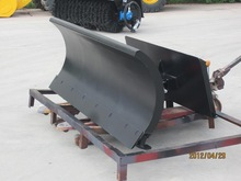 snow plow attachment for wheel loader