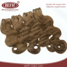 2014 Hot Sale Natural body wave Remy Brazilian Honey Blonde Hair Extension