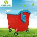 ferro cestos de lixo