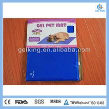 waterproof pet gel mat/ dog cool gel pad