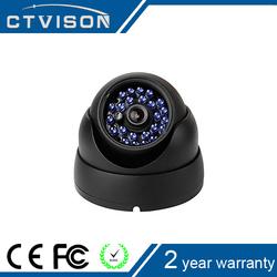 700tvl cctv infrared dome cameras COMS 6mm Lens 24IR LED Metal Dome BLACK