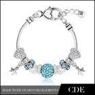 2014 fashion wholesale European Charms Beads Bracelet