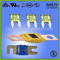 Auto fuse Blade type Mini Fuse 10A 32V