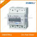 Drm75sa einphasen-lcd anzeige elektrische digitale energiezähler