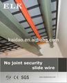 elk eléctrica de la grúa de elevación del sistema eléctrico de alambre conjunta de etiquetas de seguridad de alambre