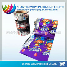 Food grade safety multilayer plating aluminum film printed